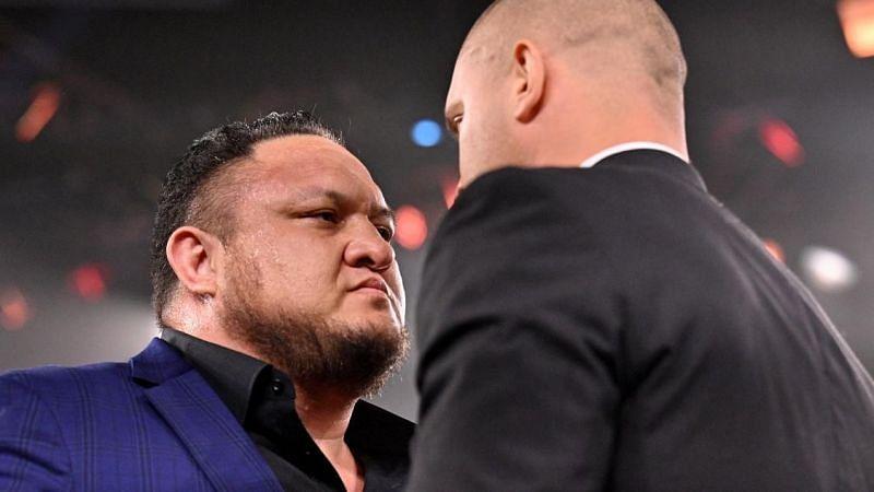 Samoa Joe recently returned to WWE NXT