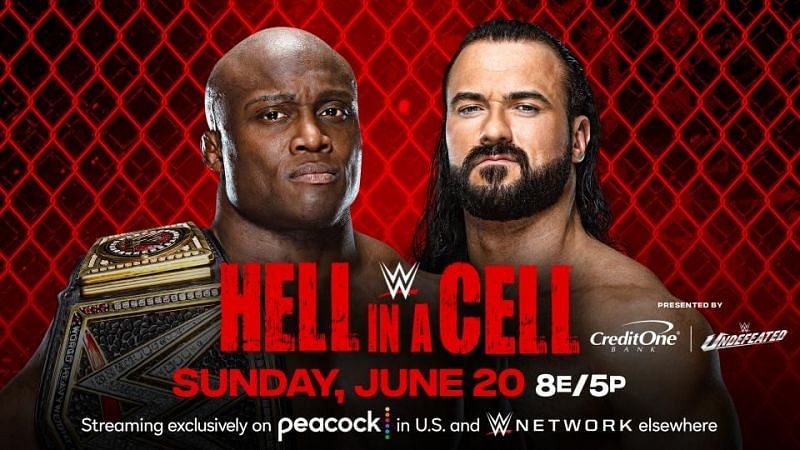What is scheduled to open and close the WWE Hell in a Cell pay-per-view?