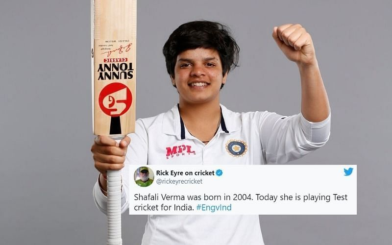 Shafali Verma becomes the third-youngest women's player to play Test cricket for India