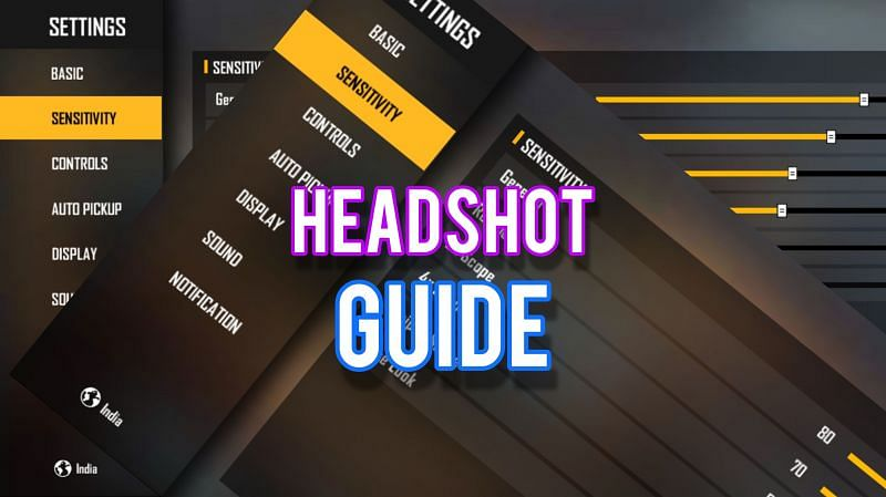 One-tap headshots can knock down enemies in a single blow (Image via Sportskeeda)