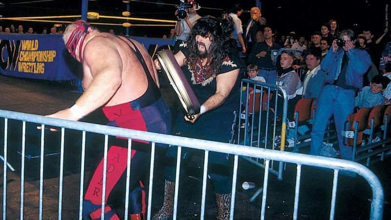 Vader was one of Mick Foley