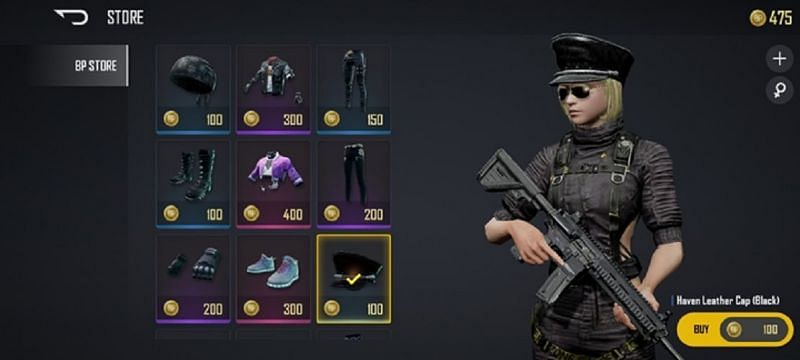 Battlegrounds Points is the in-game currency (Image via PUBG New State)