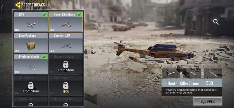 The Hunter Killer Drone  in COD Mobile (Image via Sportskeeda)