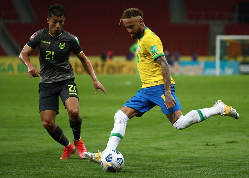 Brazil won their latest round of qualifiers, overcoming Ecuador 2-0 at home and emerging triumphantt] away by the same scoreline against Paraguay.
