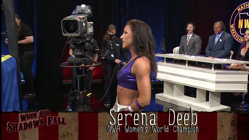 Serena Deeb will return to AEW Dynamite without the NWA Women