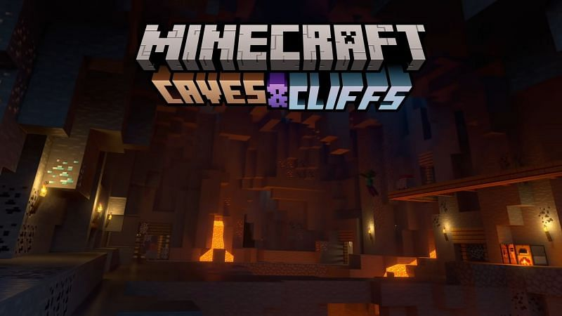 The Minecraft Caves & Cliffs update came out yesterday (Image via Mojang)