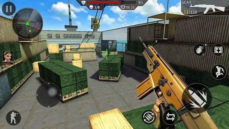 3D टीम शूटर
