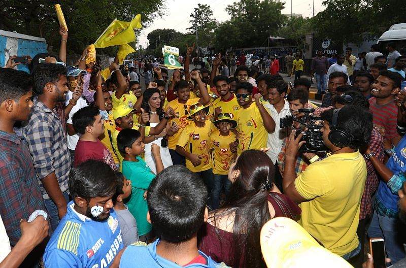 CSK have one of the biggest fan bases in the league.