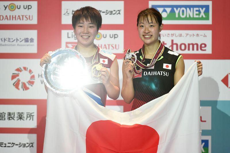 Akane Yamaguchi (left) and Nozomi Okuhara could both make Japan proud at the Tokyo Olympics