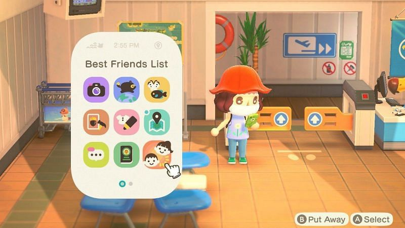 Becoming best friends in Animal Crossing: New Horizons (Image via iMore)