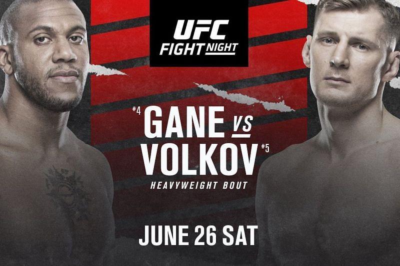 Ciryl Gane faces Alexander Volkov in the main event of UFC Vegas 30.