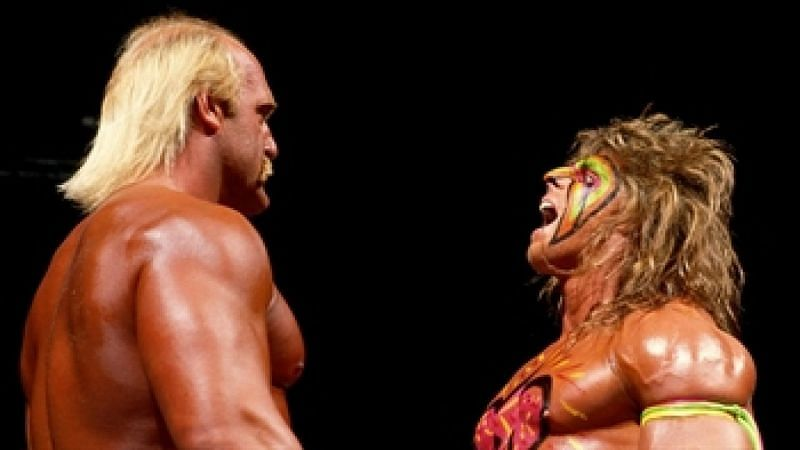 Hulk Hogan lost the WWE Championship to The Ultimate Warrior