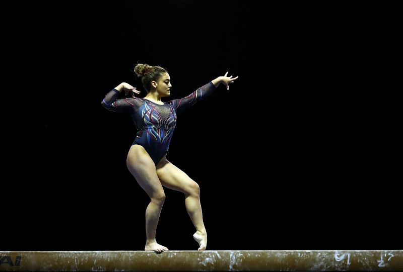 Former Olympic champion Laurie Hernandez will not make it to Tokyo (Photo by Jamie Squire/Getty Images)