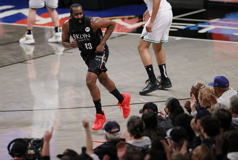 James Harden #13 of the Brooklyn Nets.