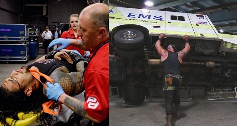 ब्रॉन स्ट्रोमैन ने WWE सुपरस्टार्स को बुरी तरह पीटा