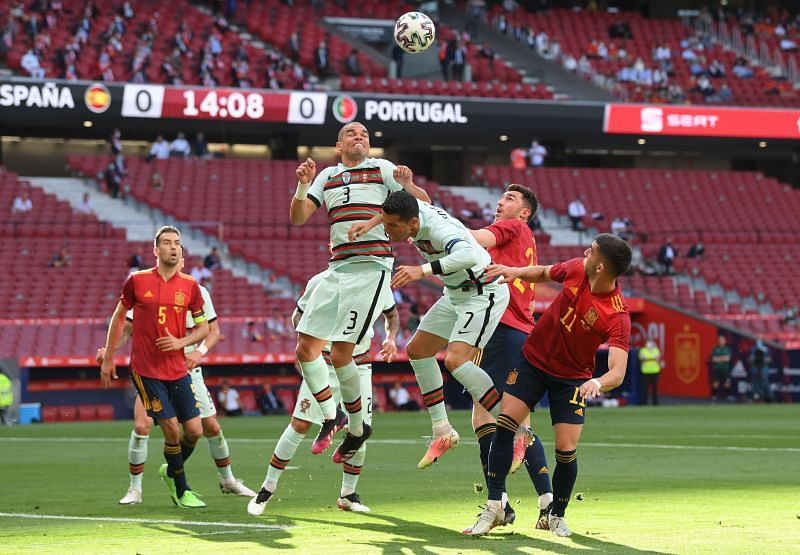 Spain 0-0 Portugal: Player ratings as Cristiano Ronaldo and company struggle   International Friendlies 2021 - Sportskeeda
