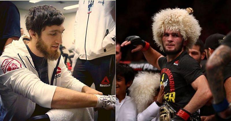 Said Nurmagomedov (left) and Khabib Nurmagomedov (right) [Image Credits: Said Nurmagomedov's Instagram]