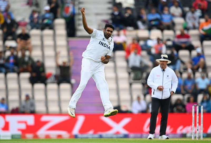 Ashwin gave the first breakthrough for India in the WTC final