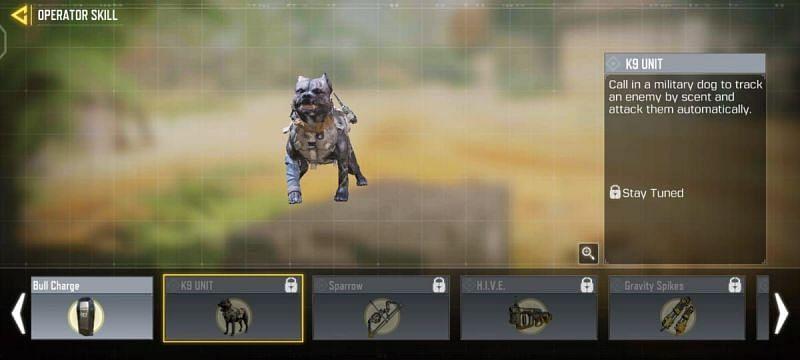 A K9 unit in MP Mode (Image via Activision)
