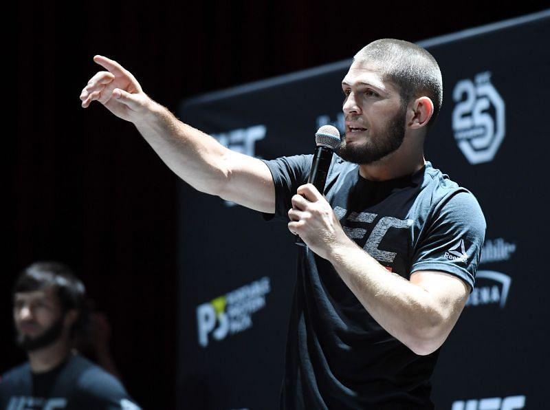 UFC 229 Khabib v McGregor: Open Workouts