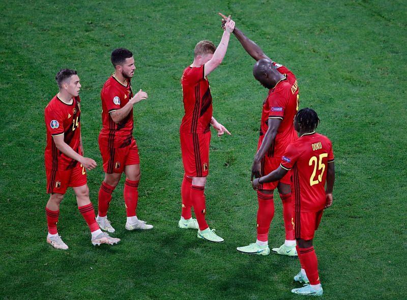 Romelu Lukaka has been in fine form for Belgium in Euro 2020.