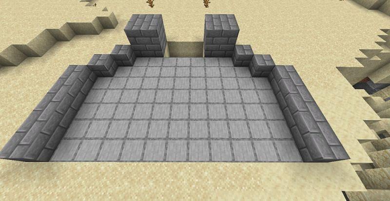 Farm design (Image via Minecraft)