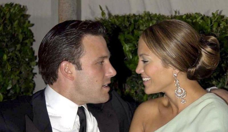 Ben Affleck and Jennifer Lopez (image via Getty Images)