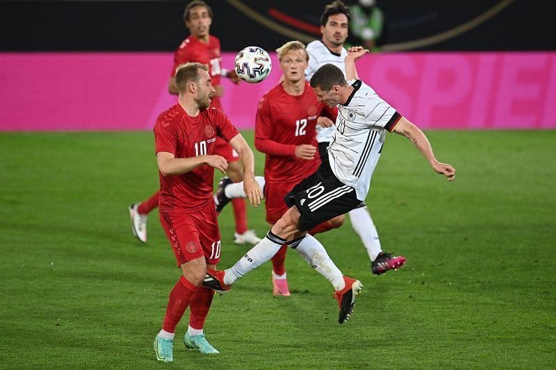 Germany take on Latvia on Monday