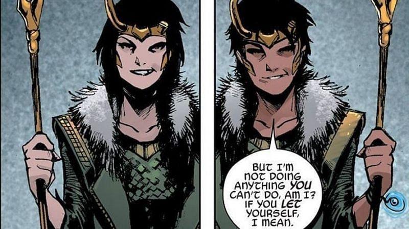 Loki in 'Agent of Asgard' comic issues. Image via: Marvel Comics