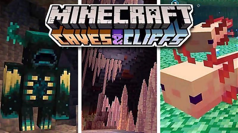 Caves & Cliffs, perhaps the most significant update Minecraft has been for some time (Image via CaptainSparklez, YouTube)