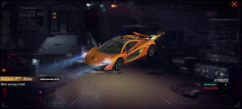 Pelle McLaren P1 - Helios
