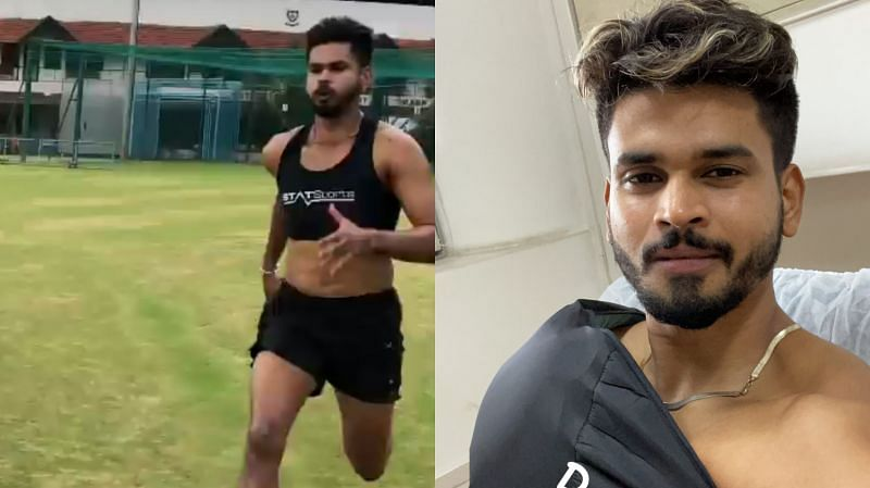 Shreyas Iyer is currently working hard to recover from his shoulder injury
