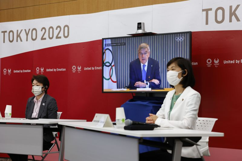 The Five Party Meeting \to Decide Spectator Capacities At Tokyo Olympic Games