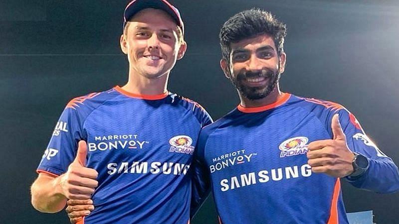 ट्रेंट बोल्ट और जसप्रीत बुमराह आईपीएल में एकसाथ खेलते हैं