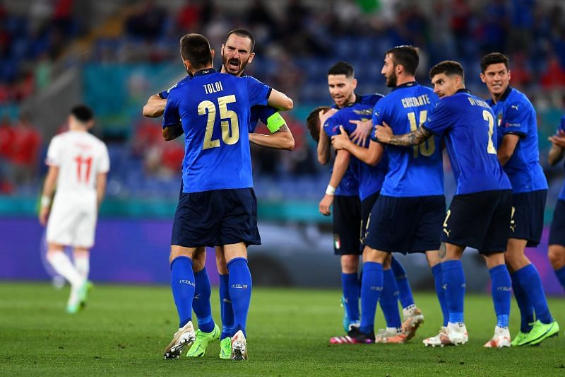 Italy extended their remarkable unbeaten run to 29 games with a 3-0 win over Switzerland in their UEFA Euro 2020 Group A matchup