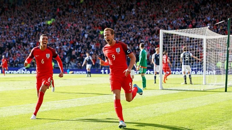 Harry Kane scored a dramatic equaliser in the last meeting between England and Scotland.