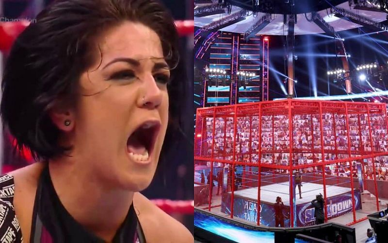 Bayley has a bold message for Bianca Belair ahead of WWE Hell in a Cell