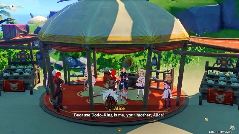 Dodoking revealed as Alice (image via GameForU)