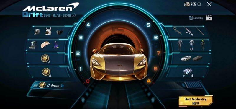 PUBG x McLaren Image via Krafton