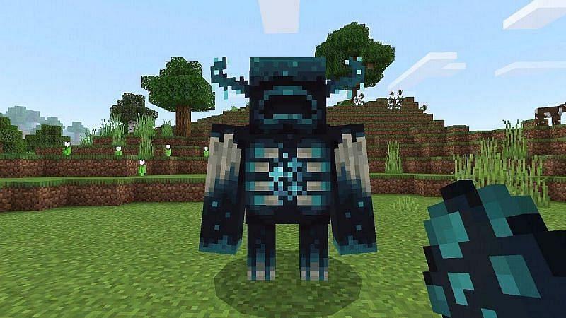 वार्डन (Minecraft के माध्यम से छवि) डी