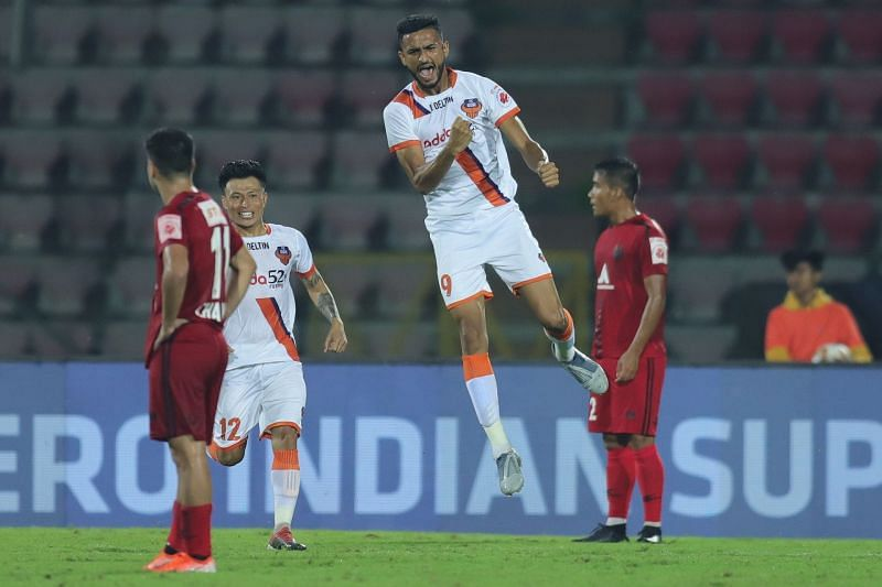 Manvir Singh impressed a lot of people with his striking abilities in the ISL this season