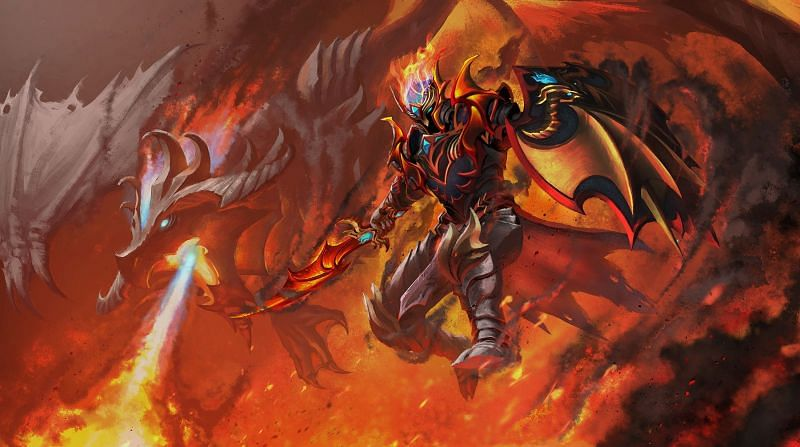 Dragon Knight is great for early tier-1s (Image via Valve)
