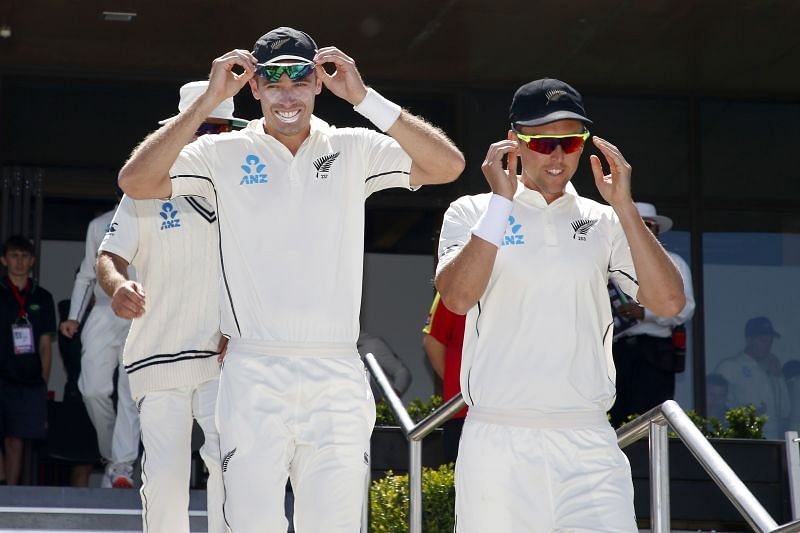 Tim Southee and Trent Boult will look to rattle the Indian batsmen