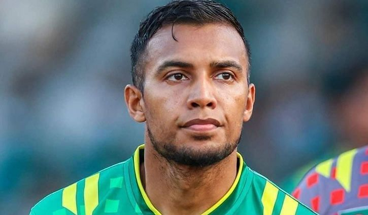 Bhuyan captains the Bangladesh national team