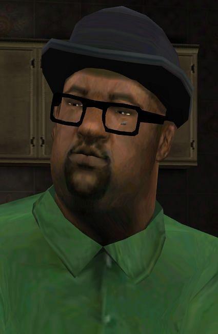 Big Smoke était l'un des membres des familles de Grove Street (Image via GTA Wiki - Fandom)