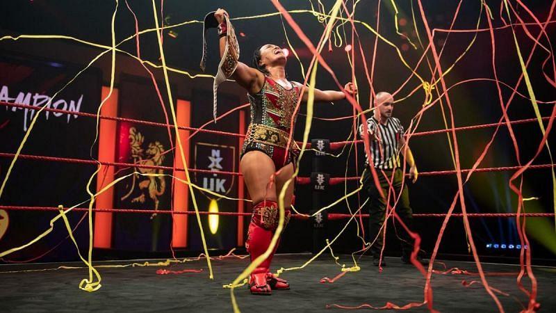 Meiko Satomura has become the fourth NXT UK Women
