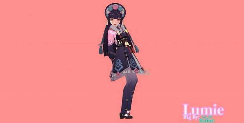 Yunjin render (image via Lumie)