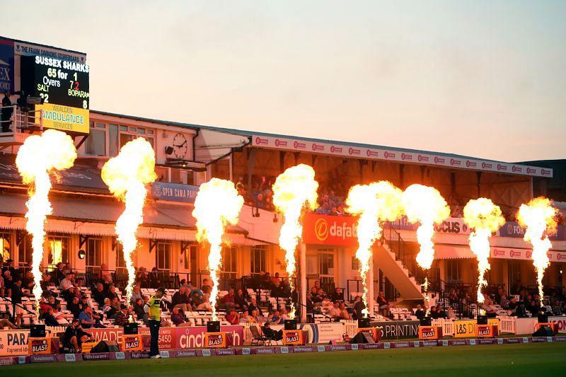 Sussex Sharks v Hampshire Hawks - Vitality Blast