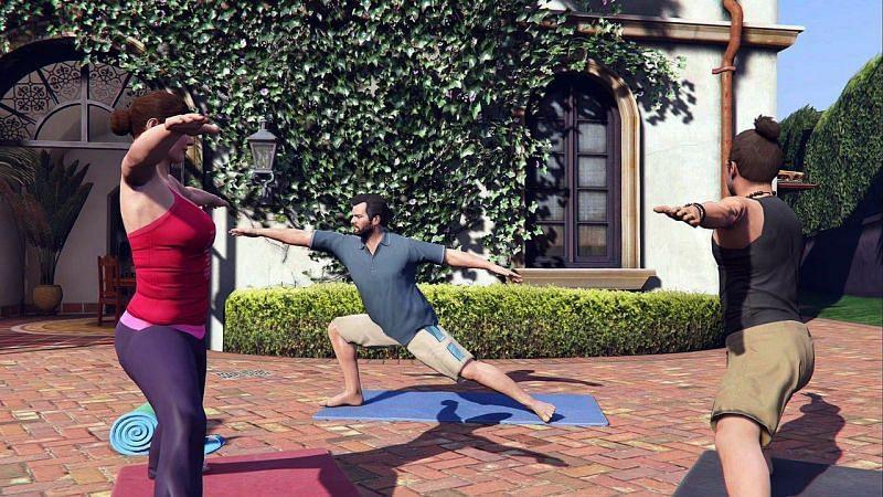 Quelqu'un a-t-il dit que le yoga est simple mais irritant (Image via IGN)