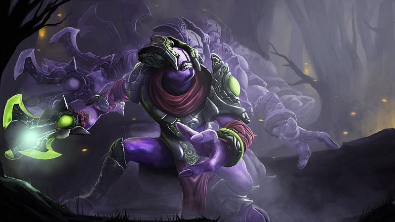 Faceless Void has an excellent survivability spell in Time Walk (Image via Valve)